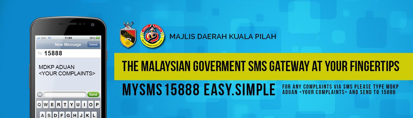 The Malaysian Goverment SMS Gateway at your Fingertips