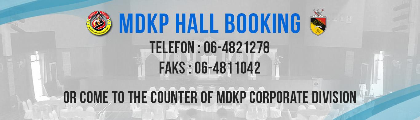MDKP Hall Booking